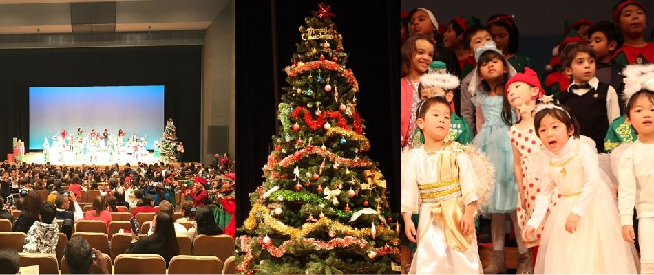 2019 christmas concert collage