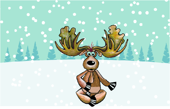 winter school moose scene.ai